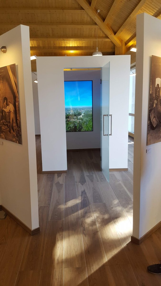 Interaktív kiállítás a Látogatóközpontban