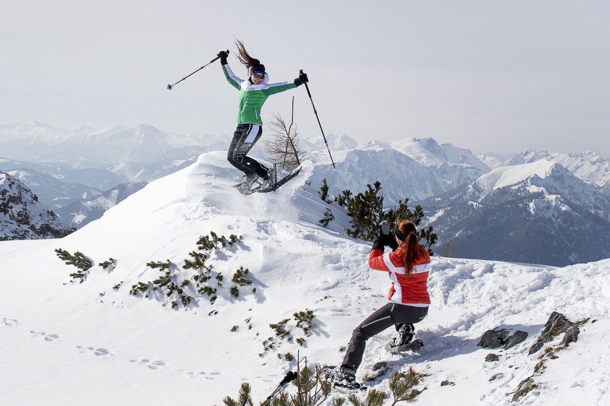 Hótalpazás a hegytetőre