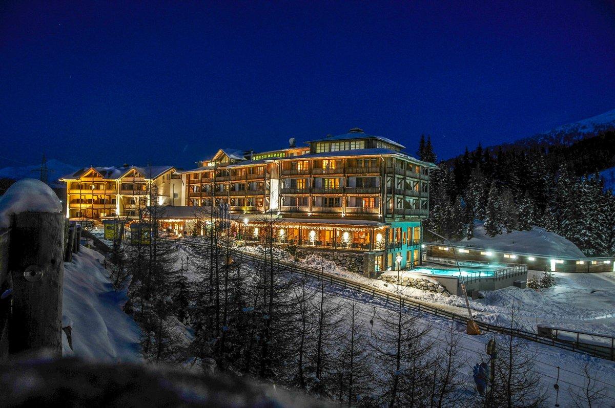 A Cristallo Hotel télen