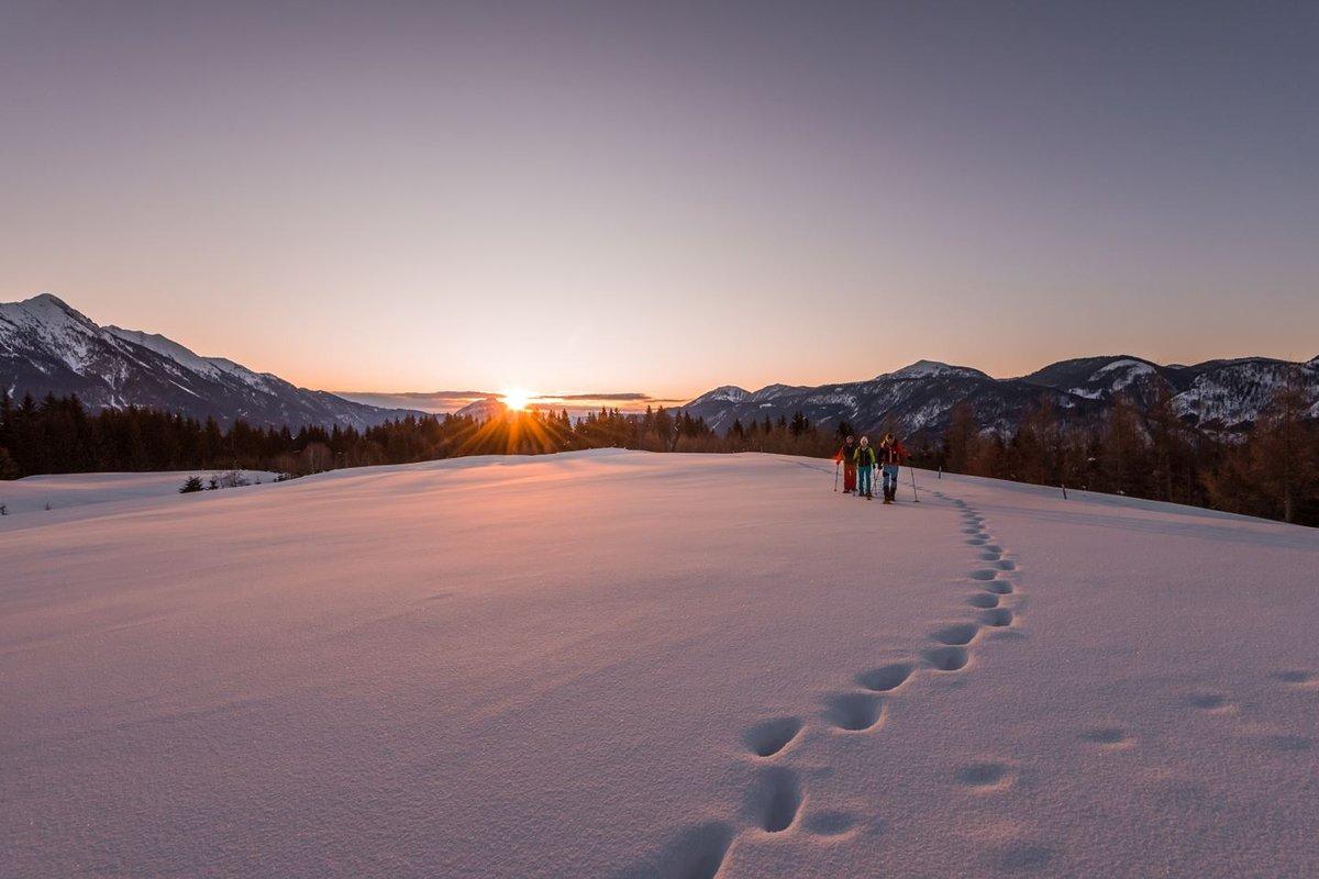 Napfelkelte a déli Alpokban