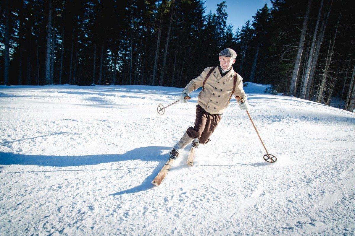 Telemark sí korhű ötlözetben