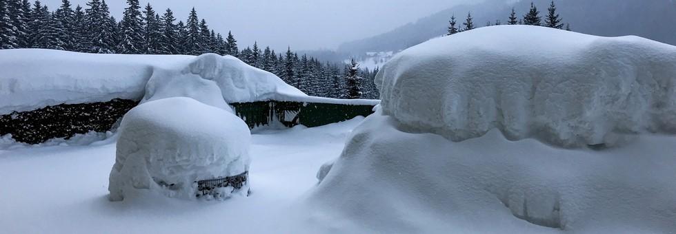 Másfél méter hó várható a hétvégén Ausztria délnyugati részén