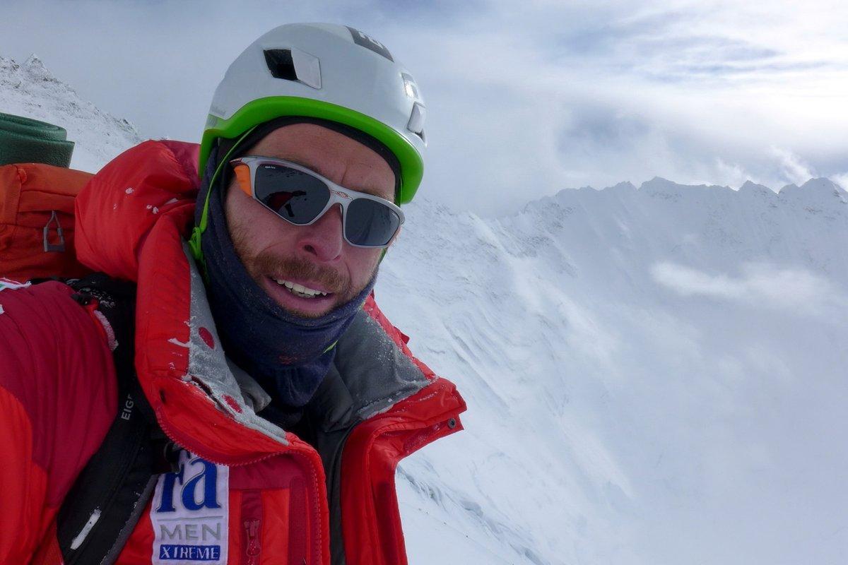 Selfie a Genfi-sarkantyú fölött (Mount Everest)