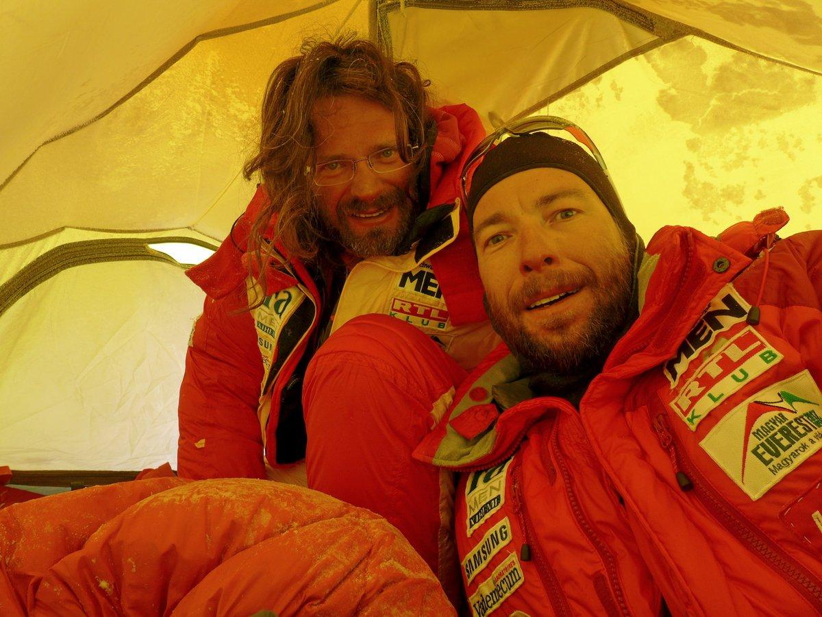 Ébredés után a Déli-nyeregben (Mount Everest)
