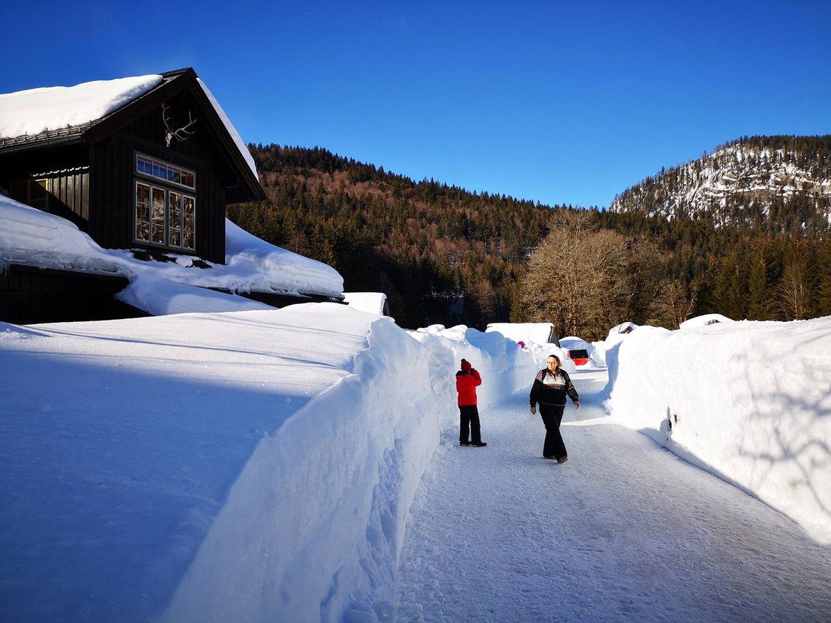 Elindulunk a téli túraösvény felé