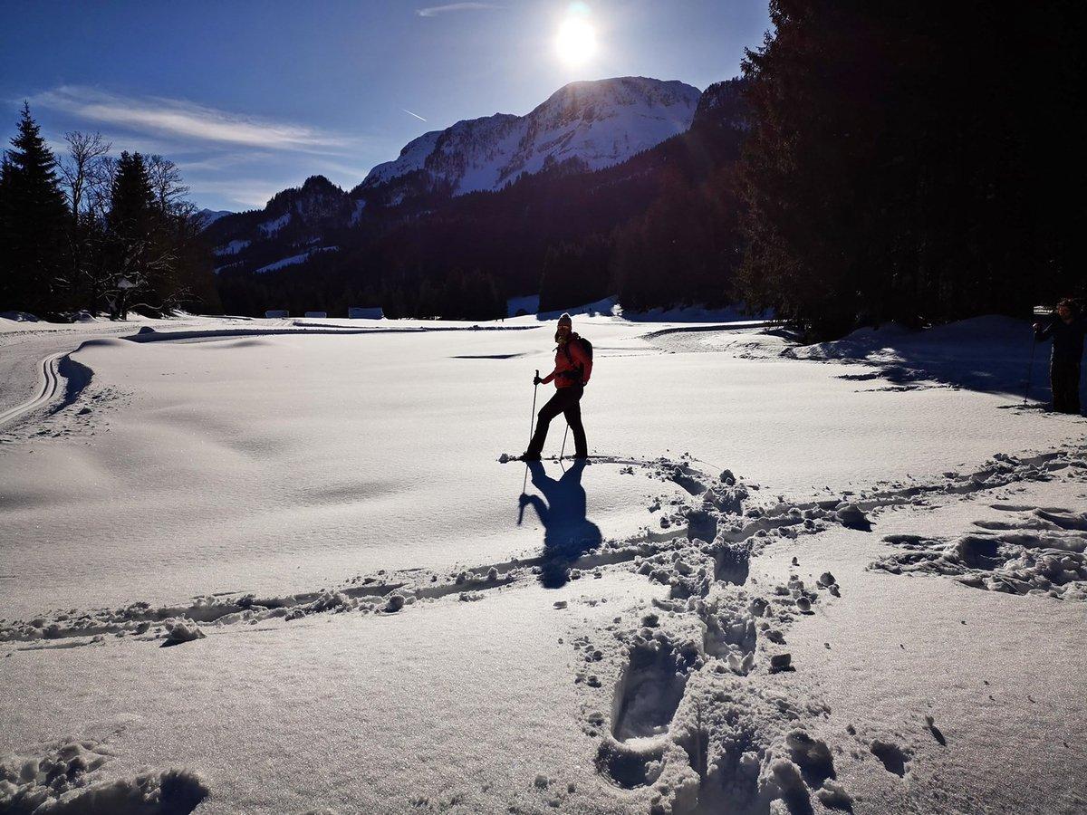Hótalpazás a mély hóban