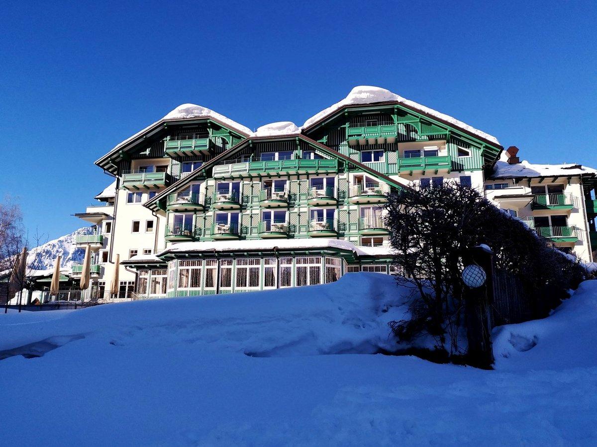 A Seevilla 4*-os Superior hotel a tó felől