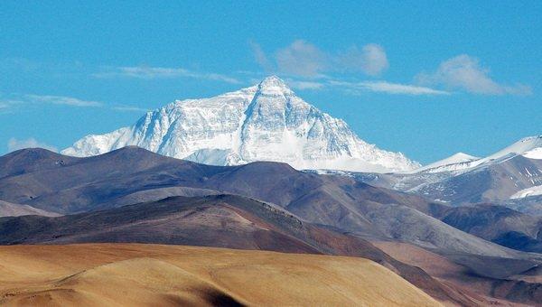 A Mount Everest északi oldala