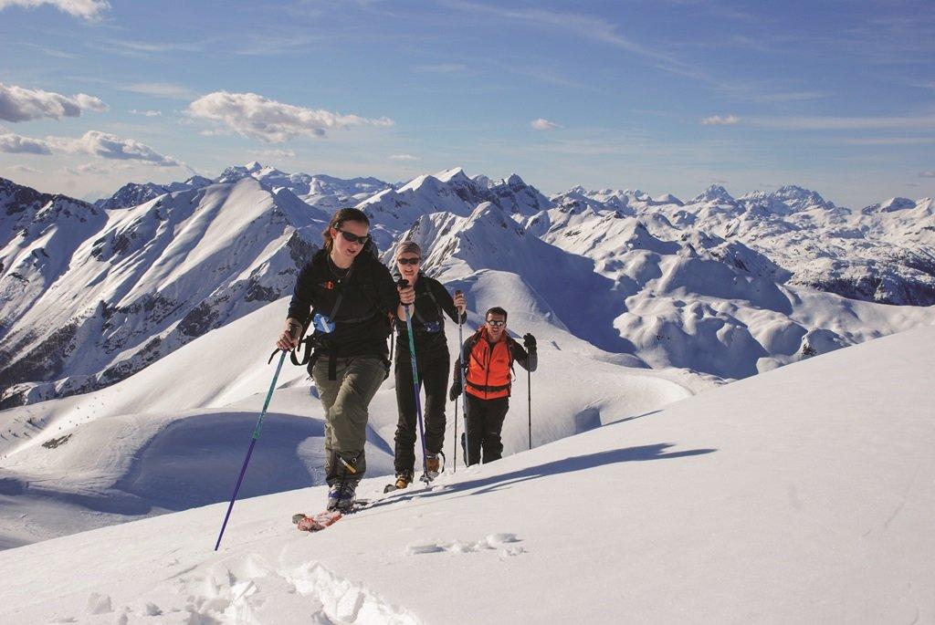 Téli túra a Júliai Alpokban