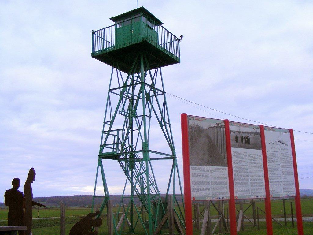 Határvidék Élményösvény őrtorony