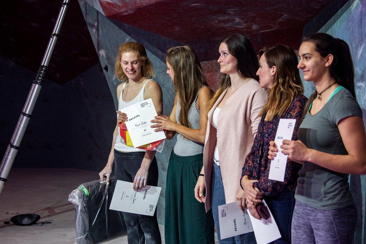 A női díjátadó