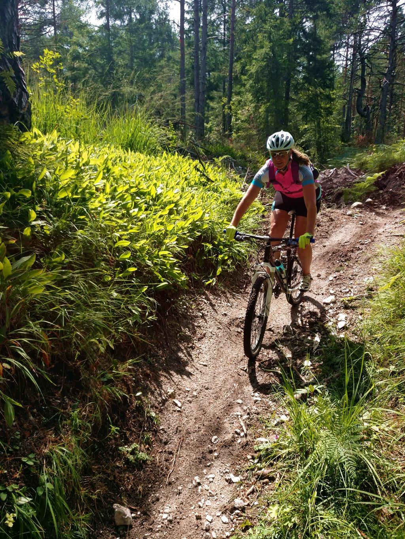 A Kopein Trail flow szakasza
