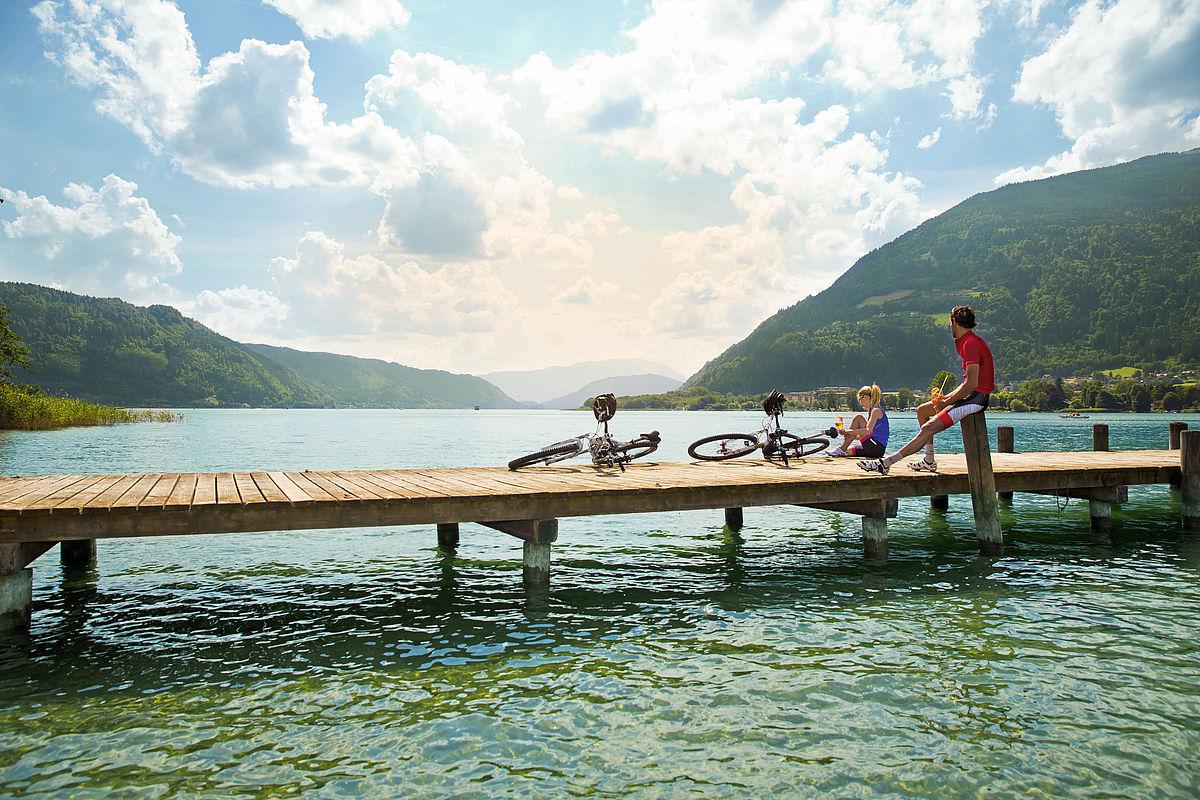 Nagy karintiai tókerülő túra első szakasz: Ossiachi-tó