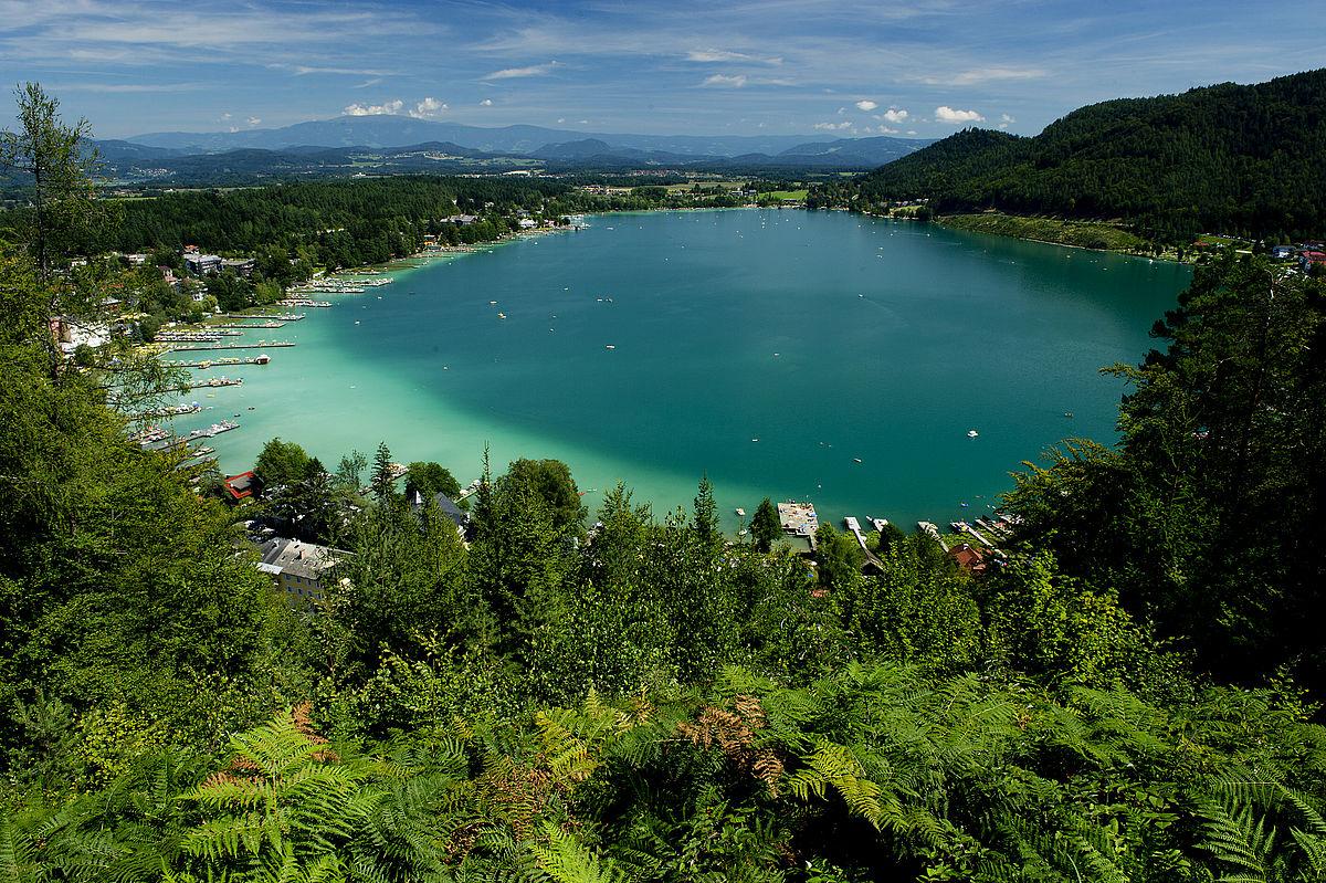 Nagy karintiai tókerülő túra hatodik szakasz: Klopeini-tó