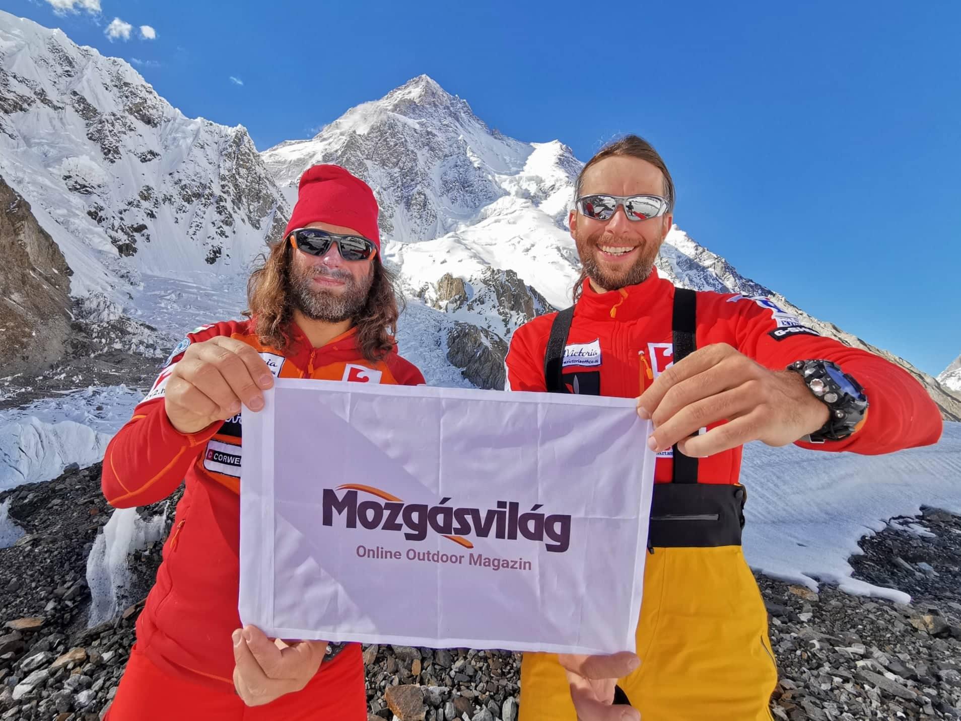 A magyar K2 expedíció online szakmai médiapartnere a Mozgásvilág