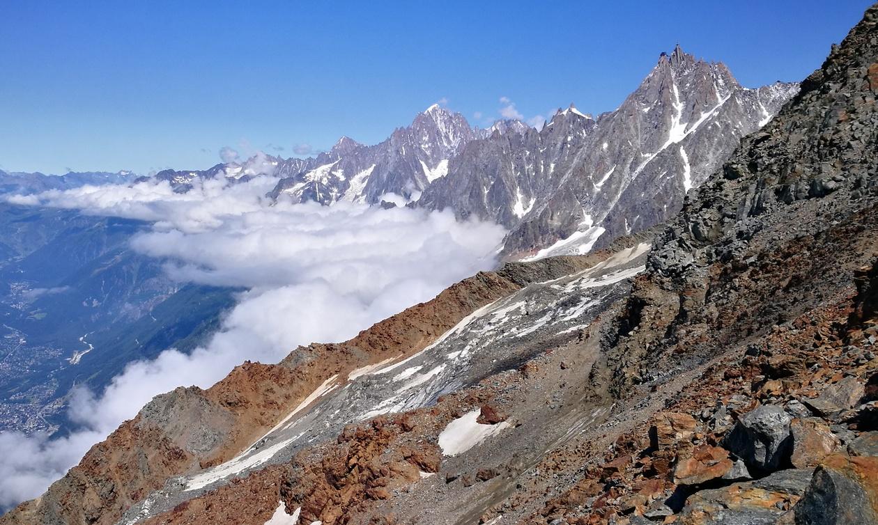 A Chamonix-völgy óriásai: Aiguille Verte és az Aiguille du Midi