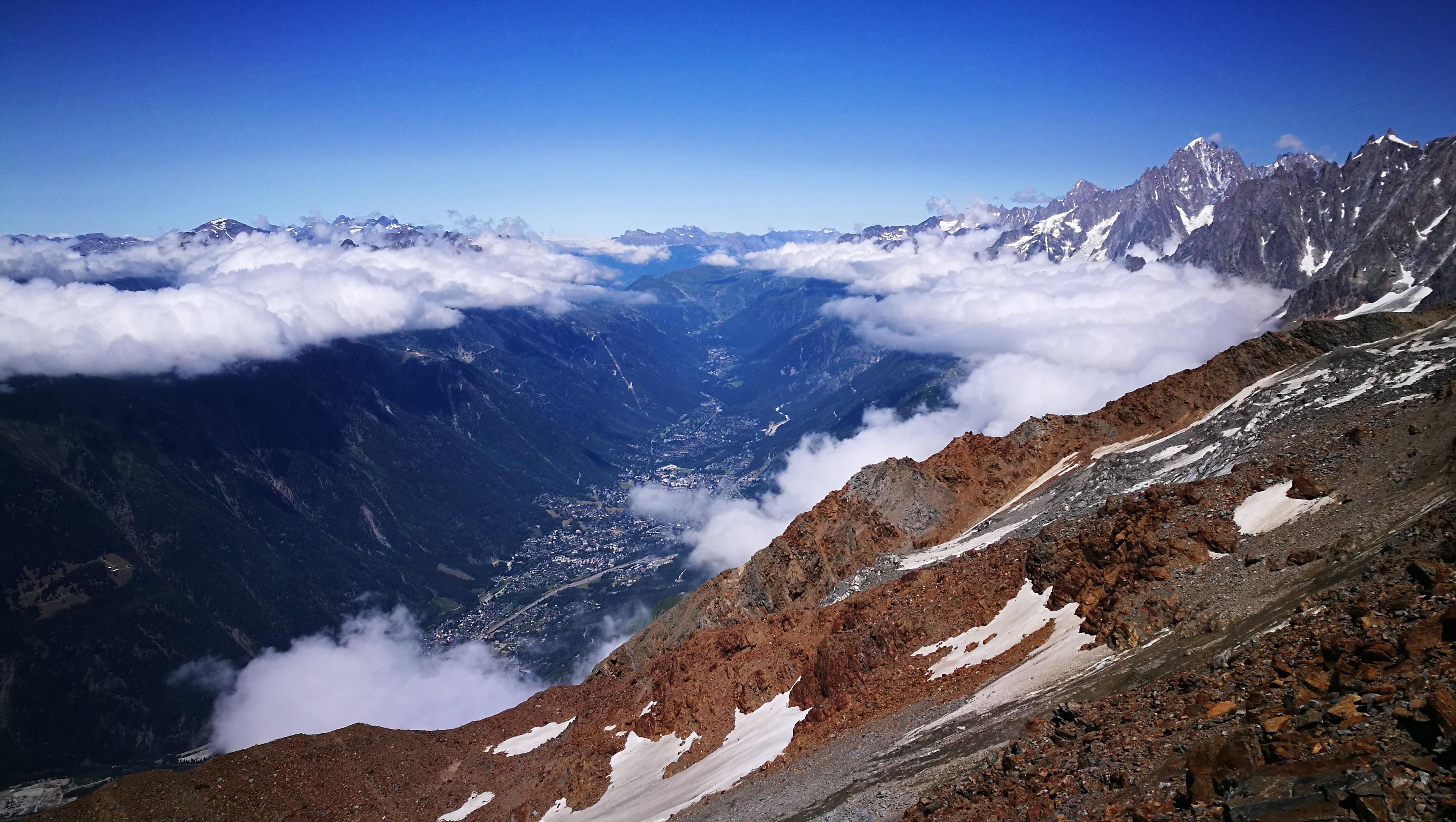 A völgyben Chamonix