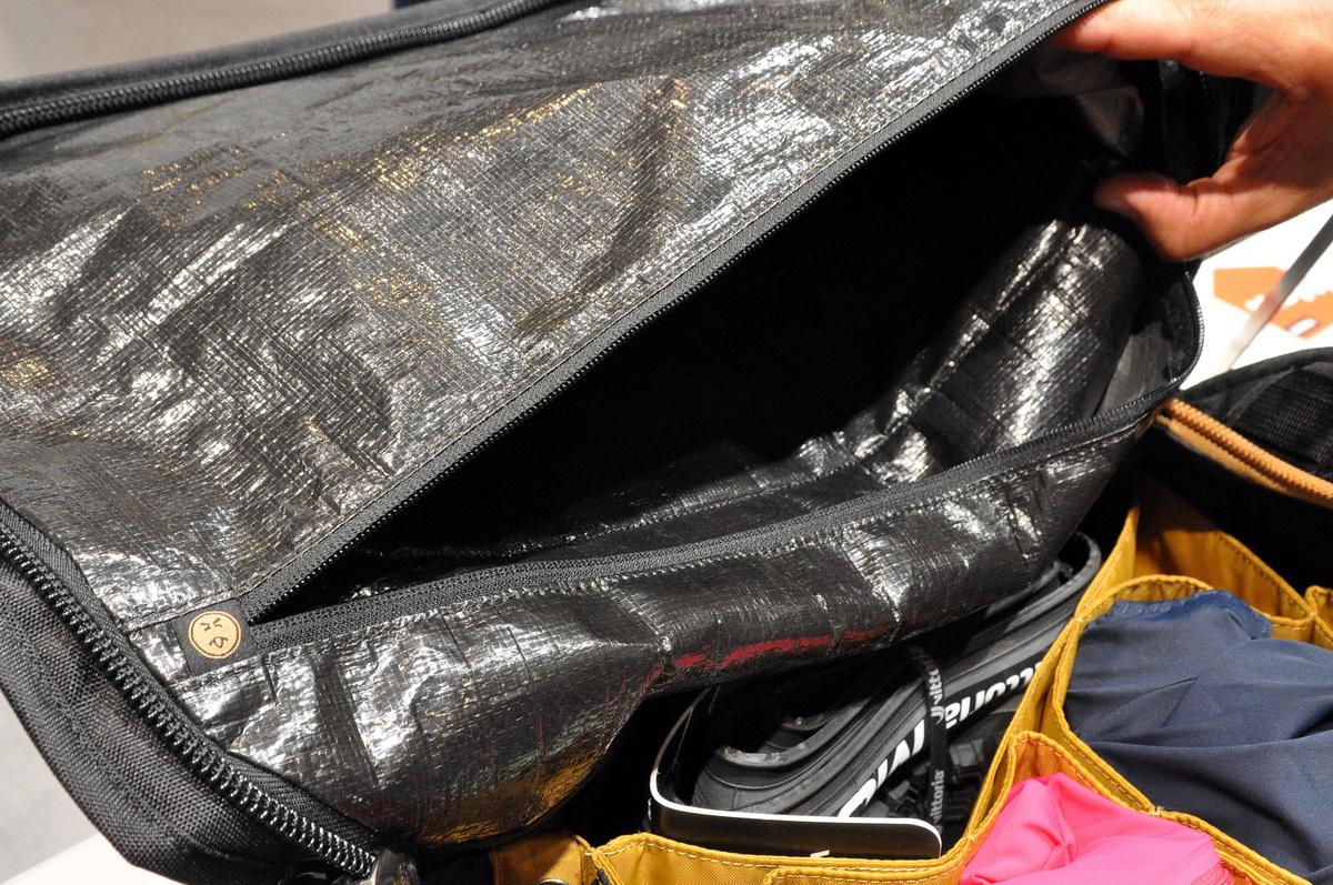 Thule Locker 55 - az izzadt és koszos ruháinkat külön zárhatjuk