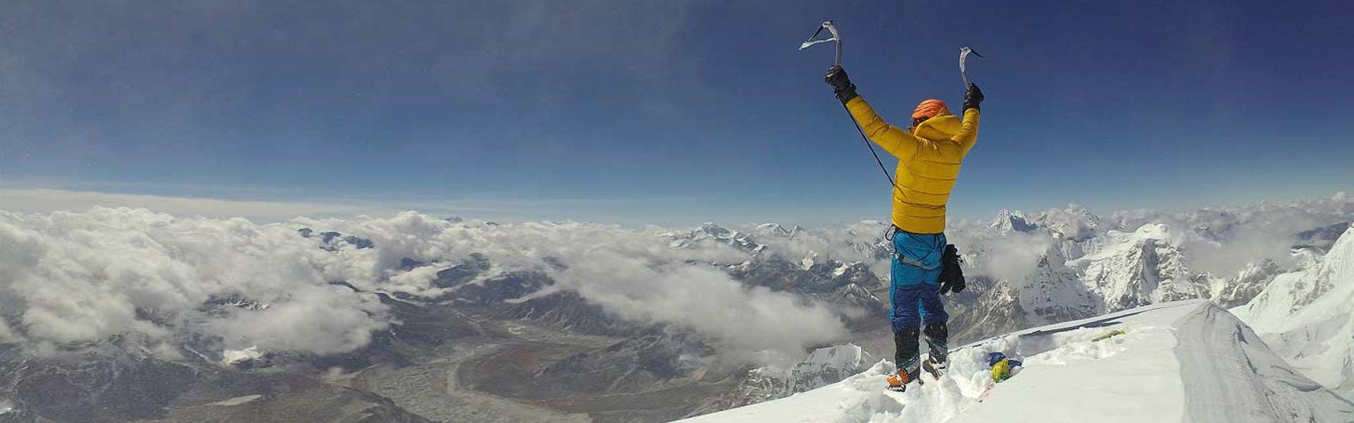 Jost Kobusch: Cél az Everest, télen, szólóban