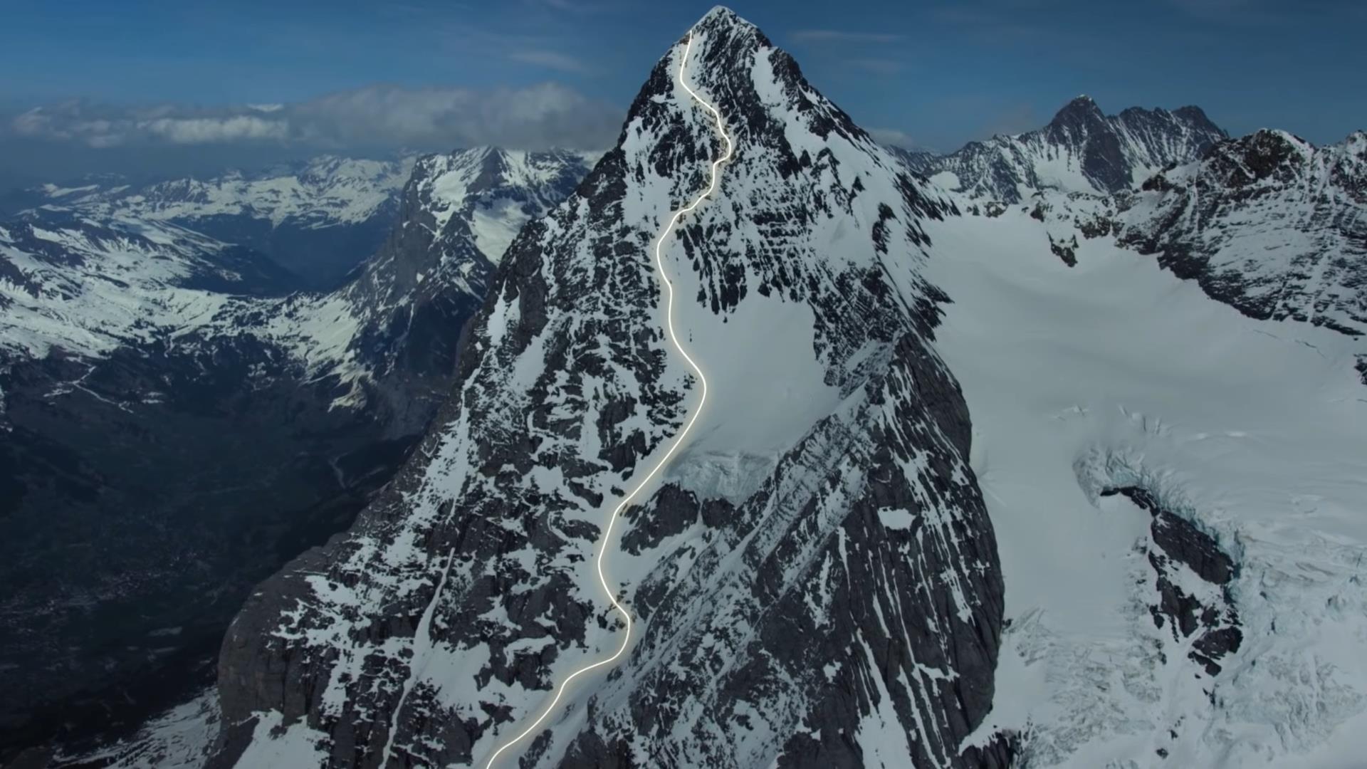 Eiger nyugati fal