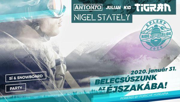 Magyarország legnagyobb sí és snowboard rendezvénye lesz Eplényben!