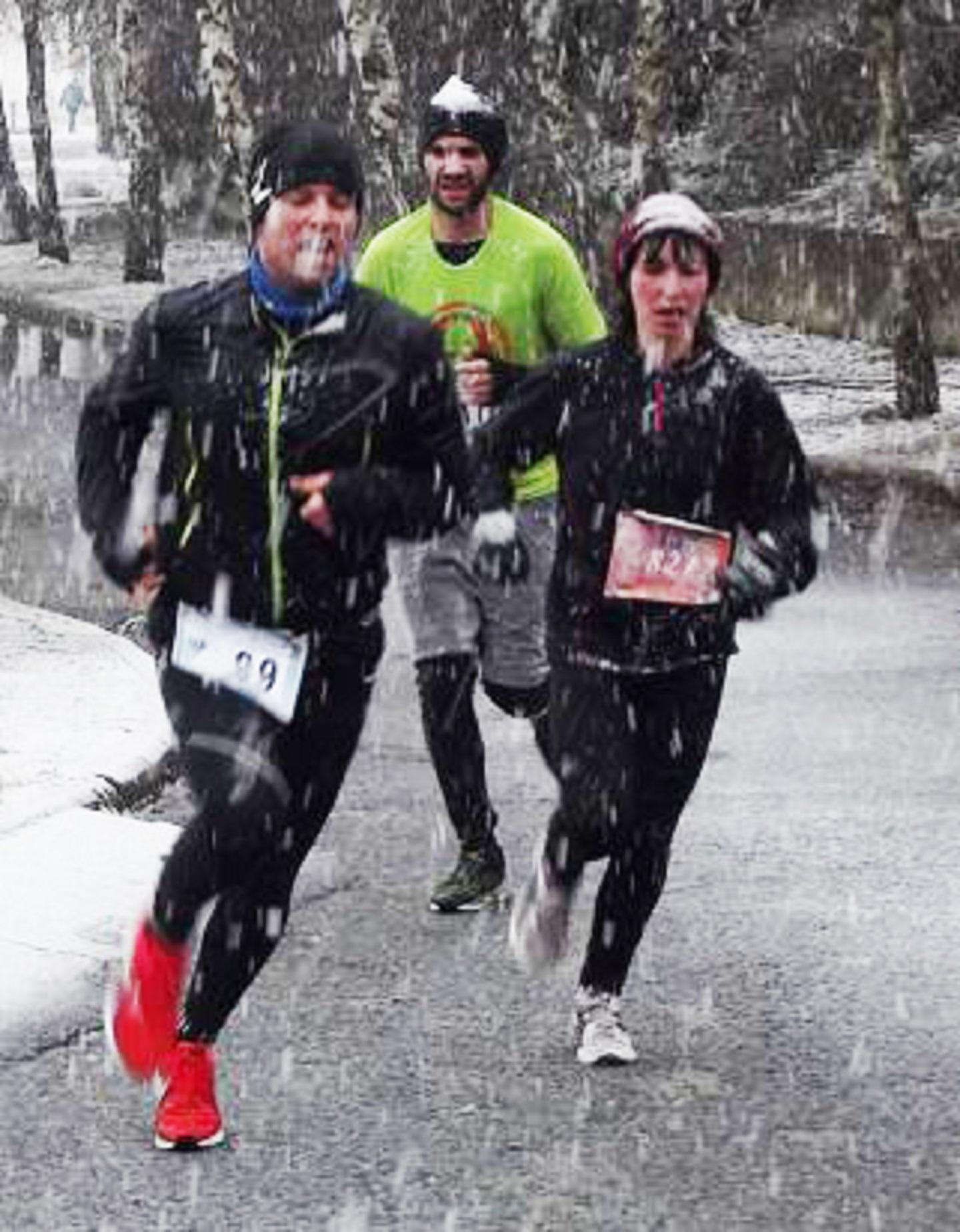 Hógolyó Domb - futás versenysorozat - december