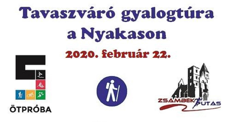 Tavaszváró gyalogtúra a Nyakason 2020
