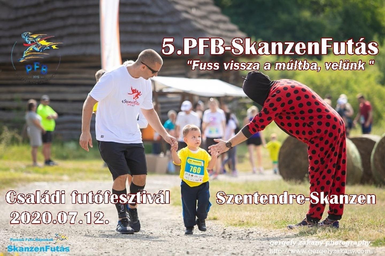 5.PFB-SkanzenFutás, családi futófesztivál