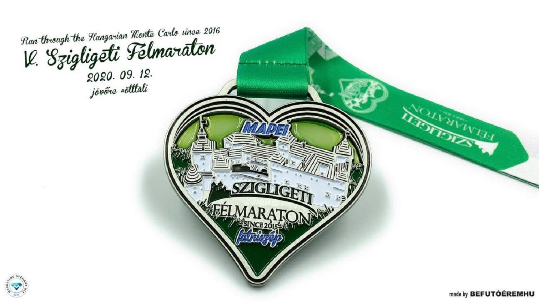 V. Szigligeti Félmaraton 21K  9K 6K 3K