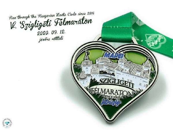 V. Szigligeti Félmaraton 2021