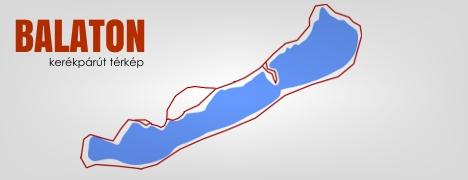 Kerékpárút Balaton Körül Térkép