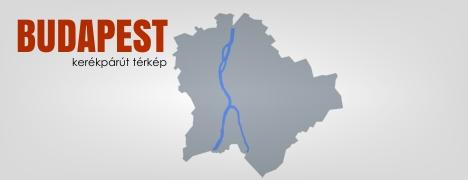 Budapest kerékpárút térképe