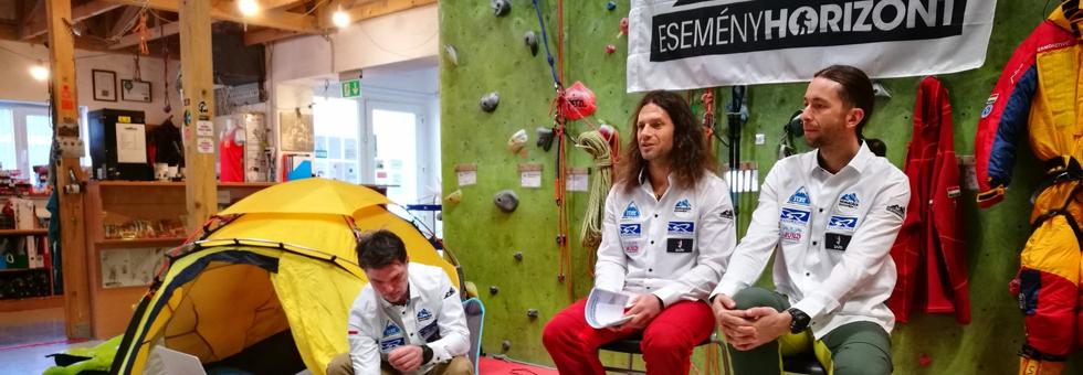 A Makalu lesz az Everest főpróbája Klein és Suhajda számára