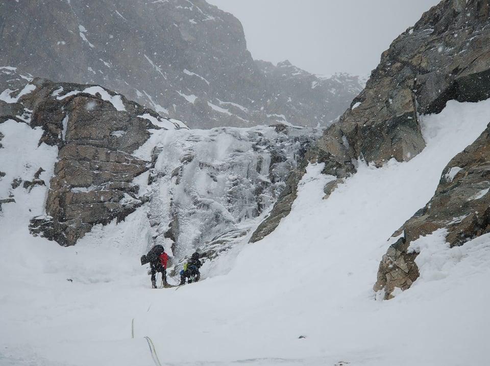A mászás 3. napja - havazni kezd