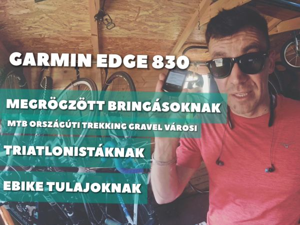 Garmin Edge 830 teszt