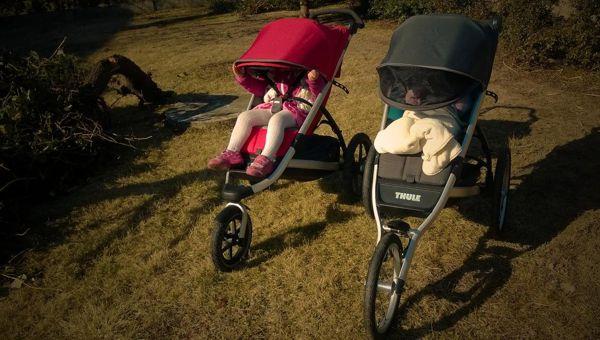 Babakocsival futni nemcsak az anyukának élmény