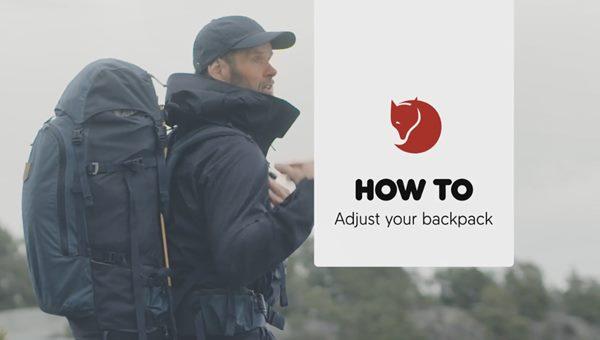 Hogyan állítsuk a hátizsákunkat a hátunkra?