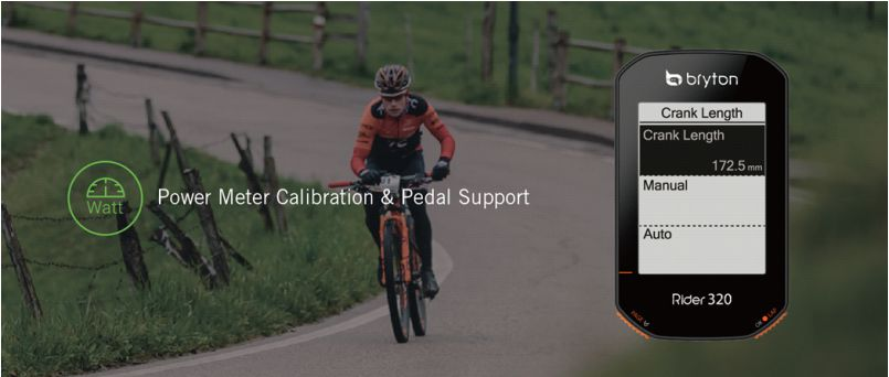 Bryton Rider 320 - Fejlett funkciók, elérhetőbb kivitelben