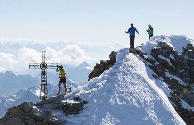 Kilian Jornet a Matterhorn csúcsán