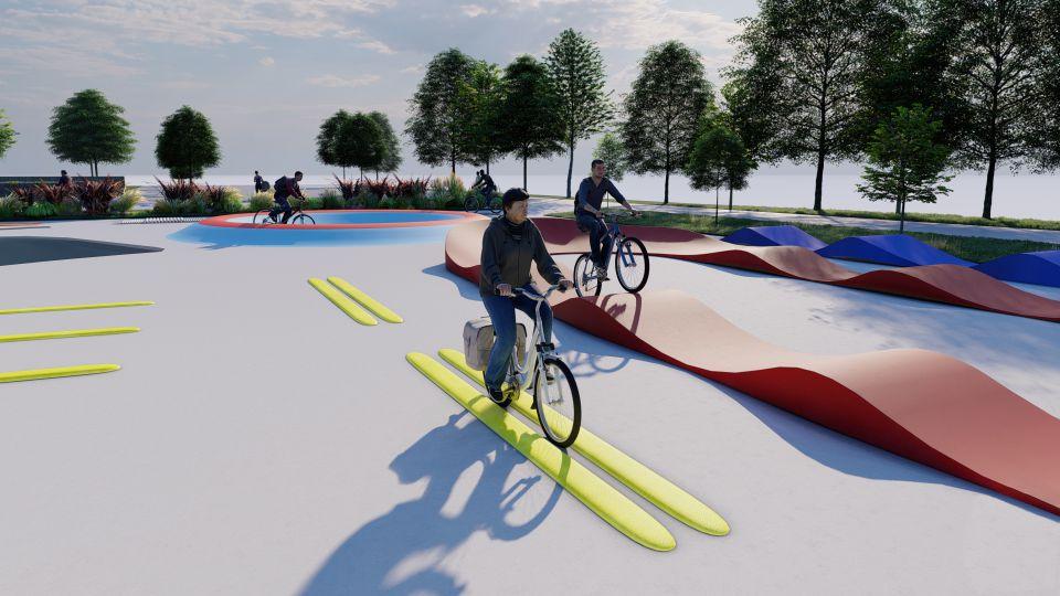 Motorikus képességeket fejlesztő kerékpáros park épül Bécsben-3