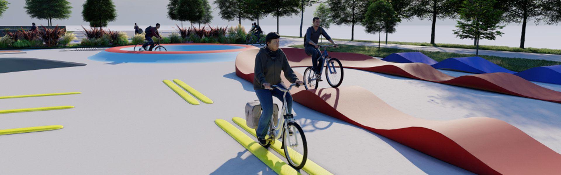Motorikus képességeket fejlesztő kerékpáros park épül Bécsben