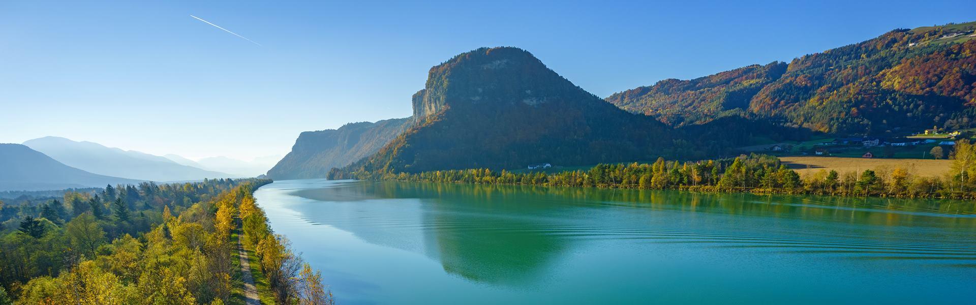 A Dráva menti kerékpárút: Alpok, tavak, folyók