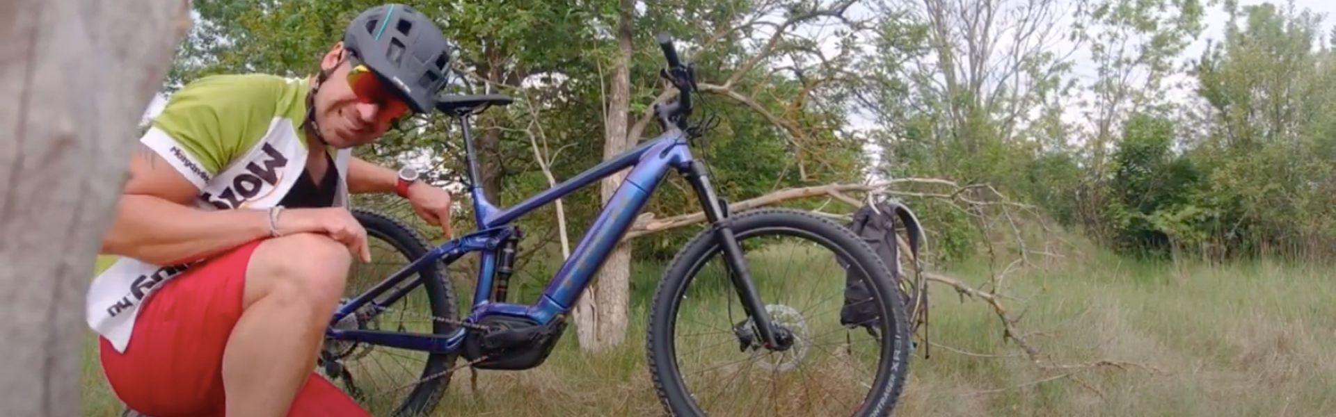 Mivel fokozható még a bringázás élményfaktora? (Trek Powerfly FS 5)
