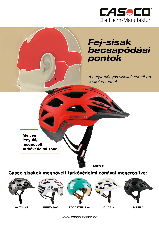Nyerj Casco Activ 2 fejvédőt-5