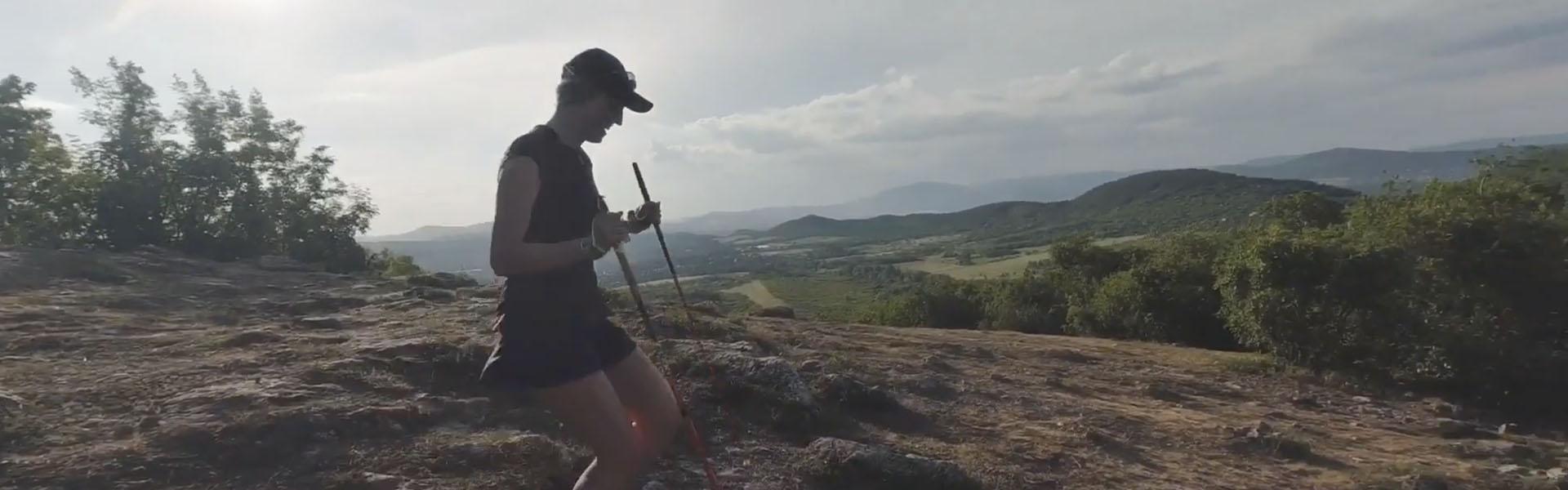 Prémium kategóriás, karbon terepfutó bot: Leki Micro Trail futóbot