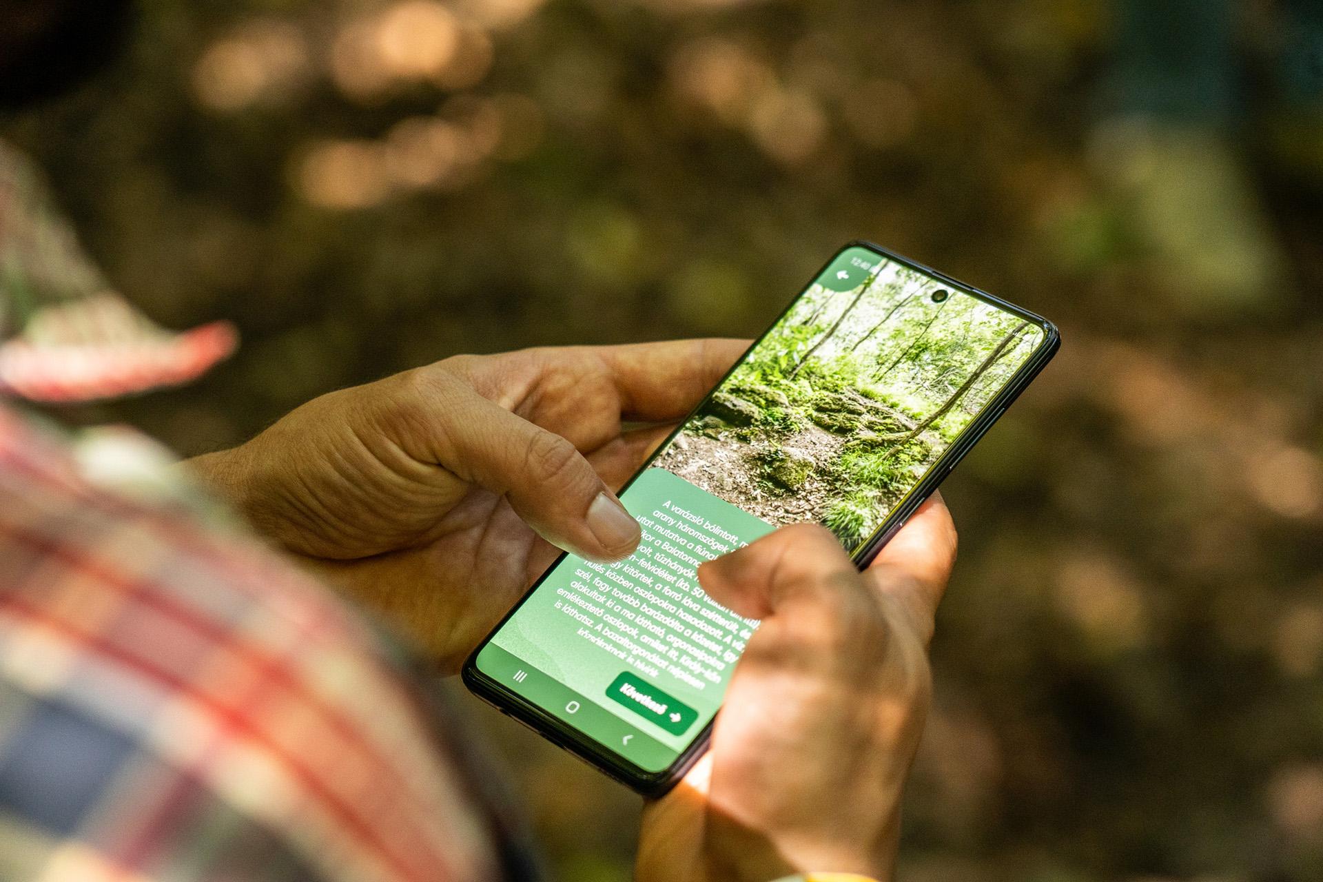 Digitális Vándor: mobilozz a természetben!-2