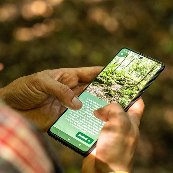 Digitális Vándor: mobilozz a természetben!