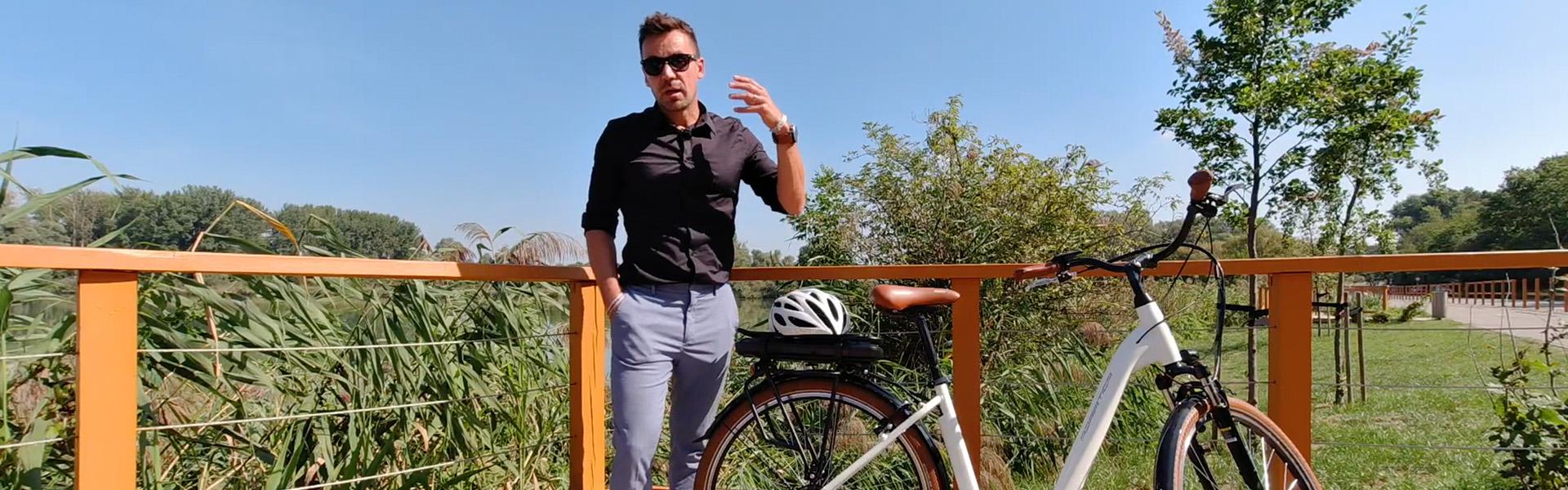 Ilyen szépet, ennyiért!? Adriatica New Age E-bike pedelec városi kerékpár