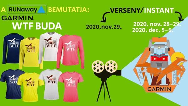 Garmin WTF BUDA 2020 verseny/instant