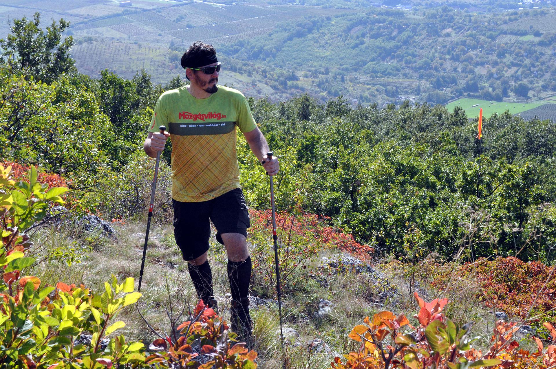 Leki Trail és Trail Antishock túrabot teszt-4